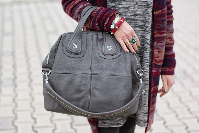Grey Givenchy Nightingale bag, Fashion and Cookies, fashion blogger