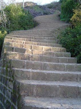 پله های شیطانکوه لاهیجان