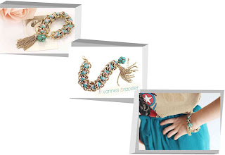 mint rope and chains bracelet