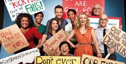 Community NBC Season Temporada 4 Dan Harmon Poster