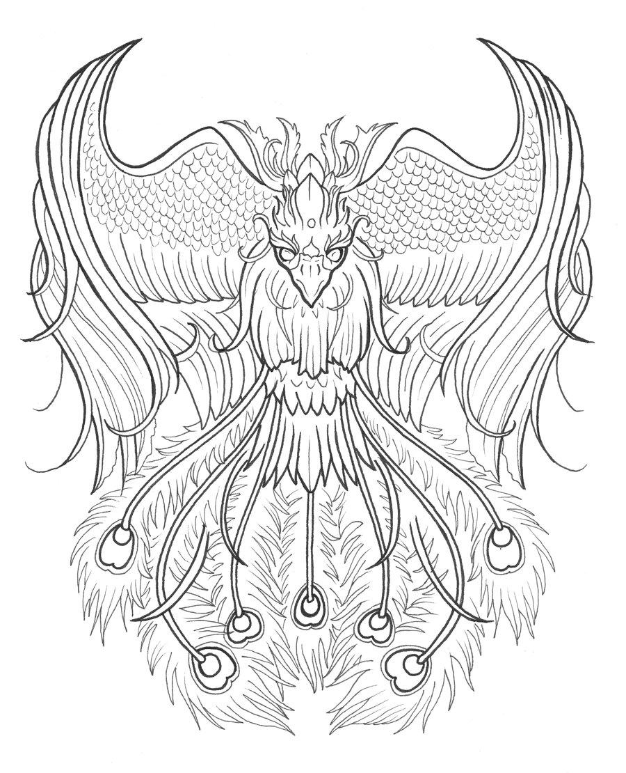 Tattoo Designs Phoenix 03