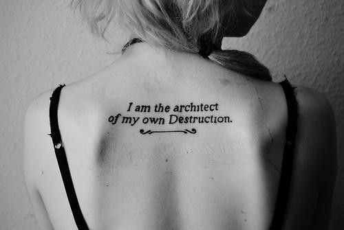 Wrist and tumblr tattoo tattoos tumblr girls quotes for Back tattoos for girls quotes