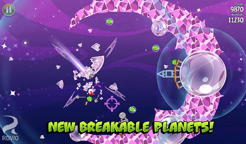 Angry Birds 4: Space Screenshot 2