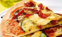 Pizza de Legumes com Tofu (vegana)