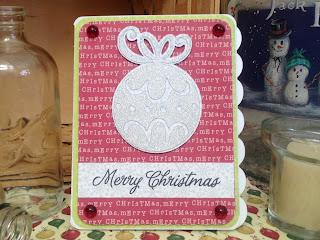 Cricut, Christmas Cheer, Christmas Card