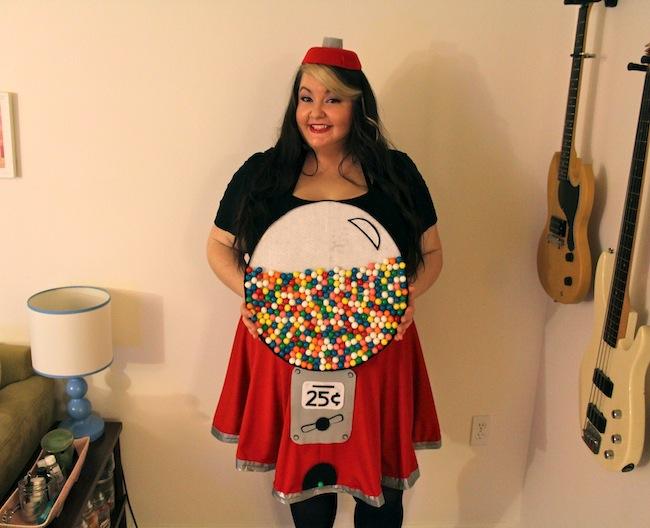 diy gumball machine costume