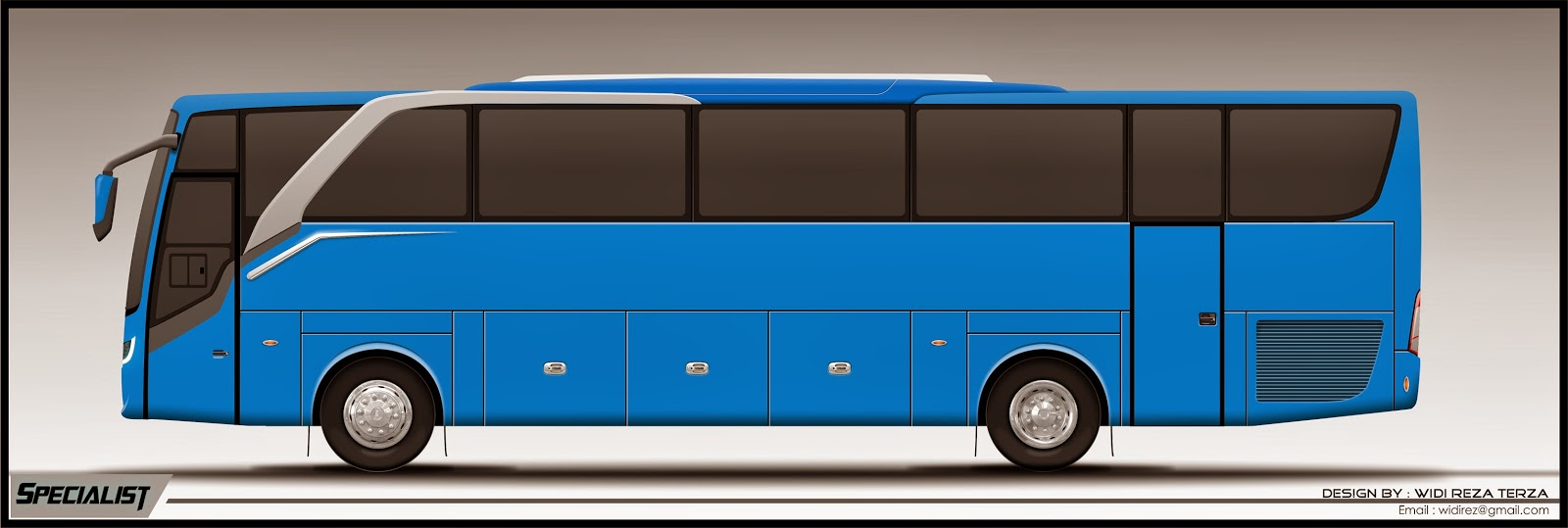 Design Bus 2D Specialist side