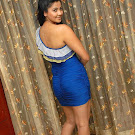 Daisy Shah Hot in Blue Dress Pics