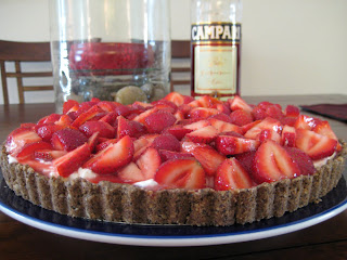 The Lush Chef: Strawberry Campari Tart