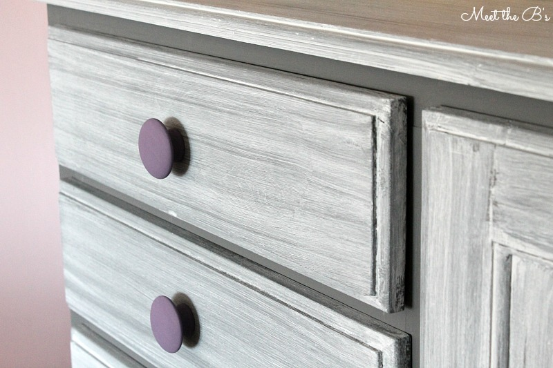 Dresser Makeover  How To Grey Wash A Dresser With Chalk Paint!