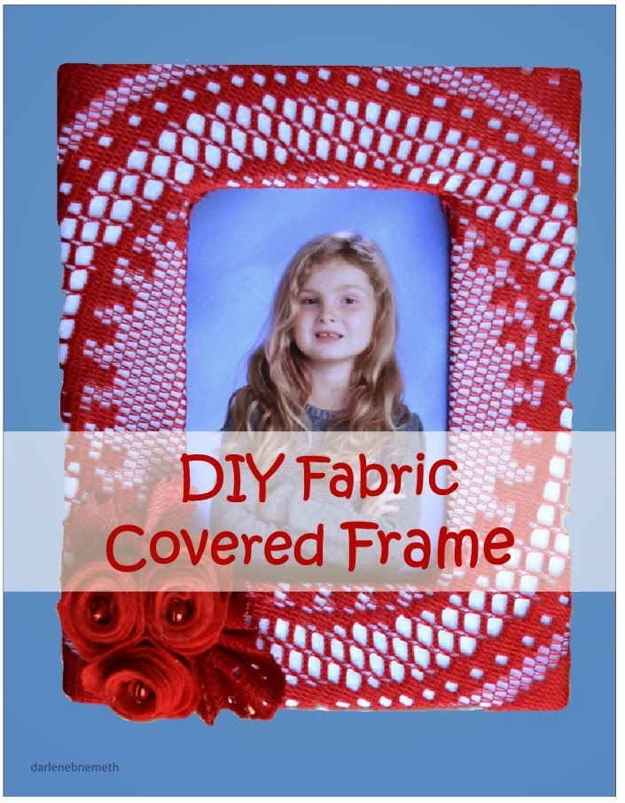 Fabric Covered Picture Frame