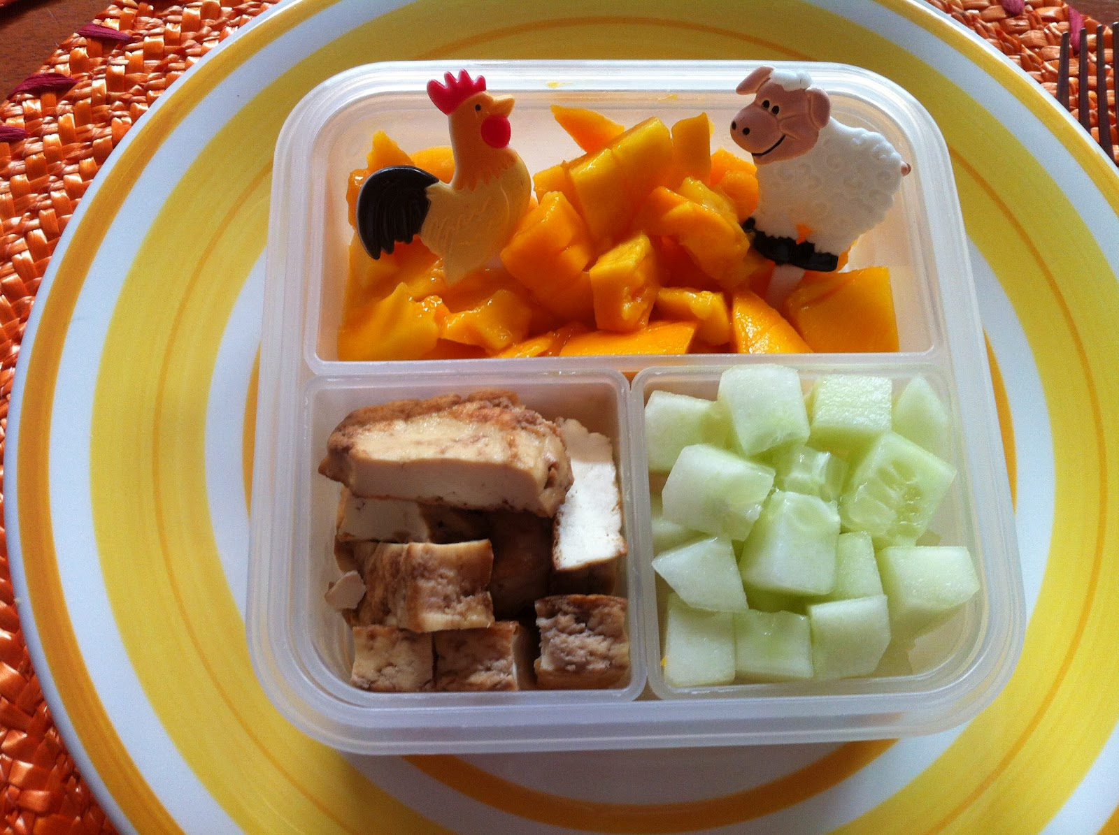 El lunch de mi enano usando la comida del dia anterior - Que hago de comer rapido y sencillo ...