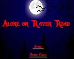 Juegos de Escape Alone On Raven Road