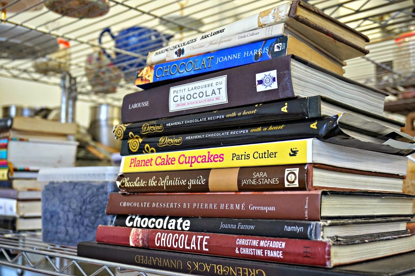 Chocolate recipe books