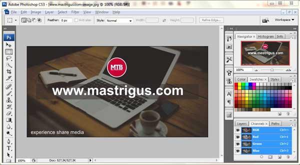Optimalkan Gambar Blog Dengan Adobe Photoshop