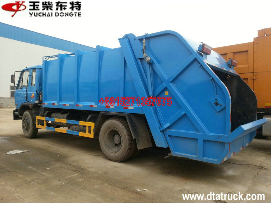Dongfeng 4x2 waste compactor garbage truck Garbage compactor