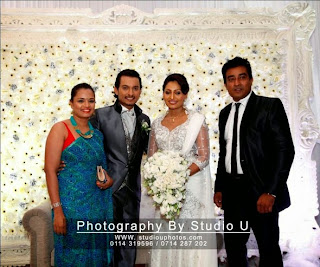 sri lankan actor wedding