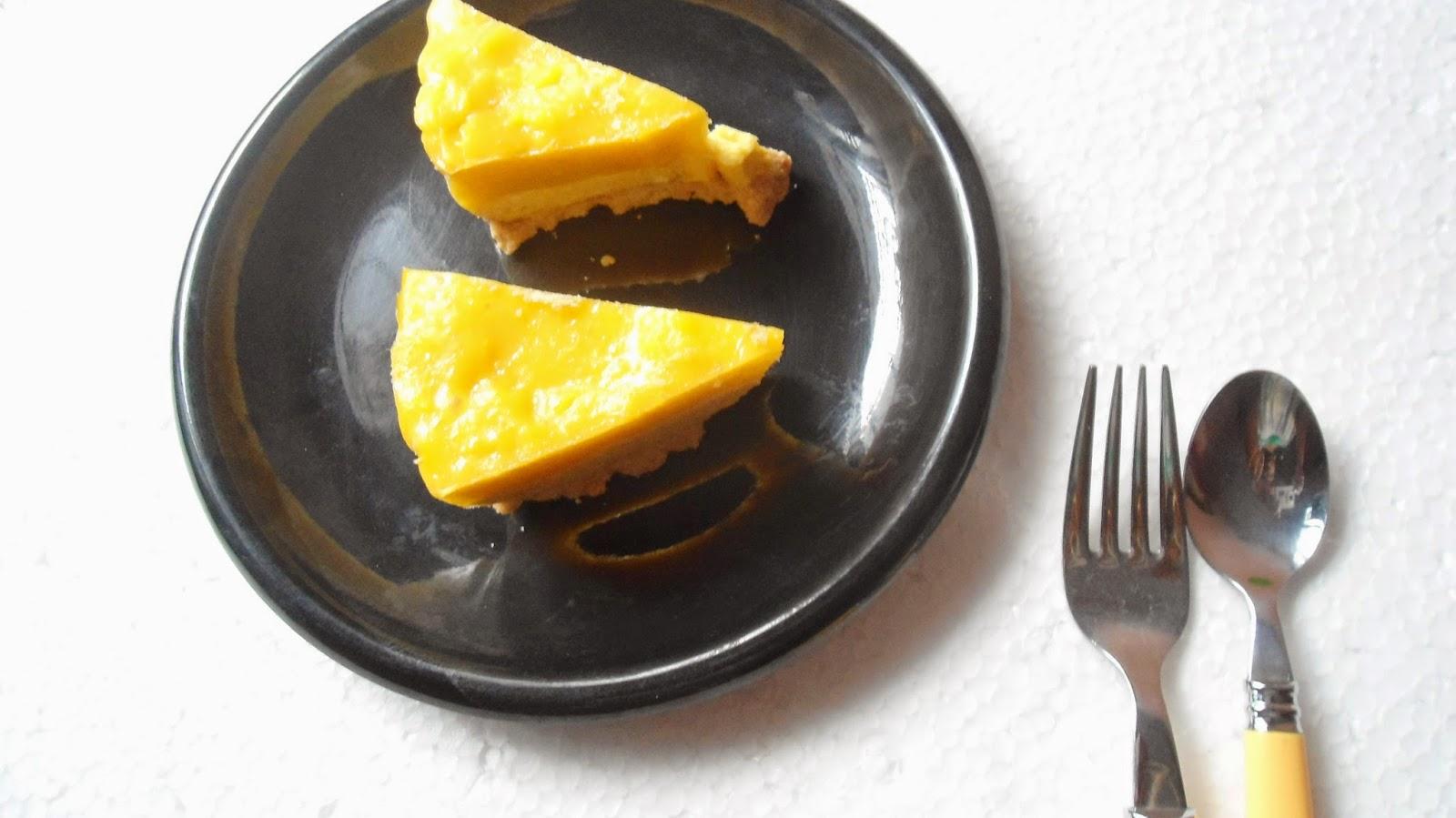 no bake mango cheese cake