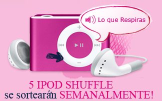 premios 50 iPods modelo iPod-Shuffle promocion mikaela records rakel Mexico 2011