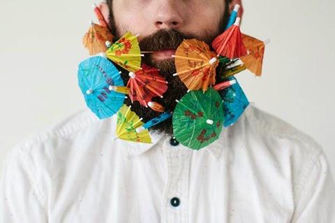 Beard Hair Experiments by Pierce Thiot