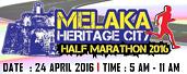 Melaka Heritage Half Marathon 2016 - Melaka