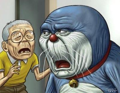 Foto Jika Doraemon & Nobita Sudah Tua | LADANG-HIJAU