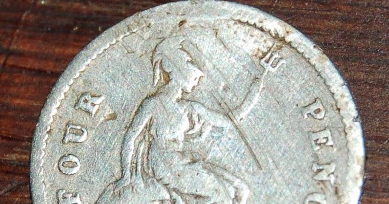 1 Pence Coin Floor