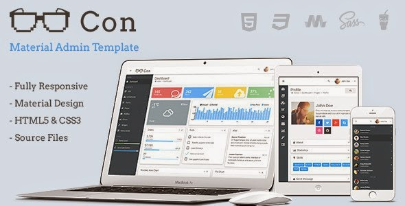Best Responsive Admin Dashboard Template 2015