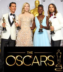 Оскари 2014 Победителите и Тоалетите на Червения килим
