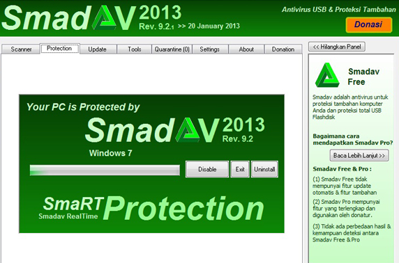 Download Smadav 2013 Pro Rev. 9.2.1 Full Version + serial