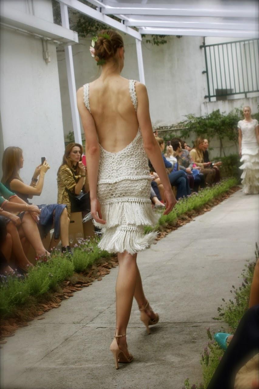 Yaz Koleksiyonu 2014 moda tasarımcısı Vanessa Montoro, dantelli giyimler, ,Vanessa Montoro