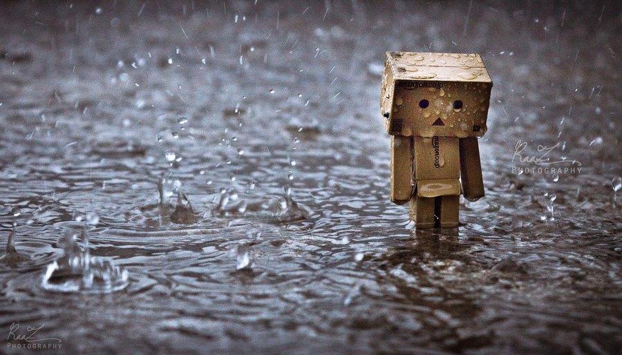 hình ảnh mưa buồn tâm trạng cô đơn