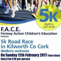 Popular 5k race in Kilworth...Sun 12th Feb 2017