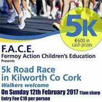 Popular 5k race in Kilworth...Sun 12th Feb 2017