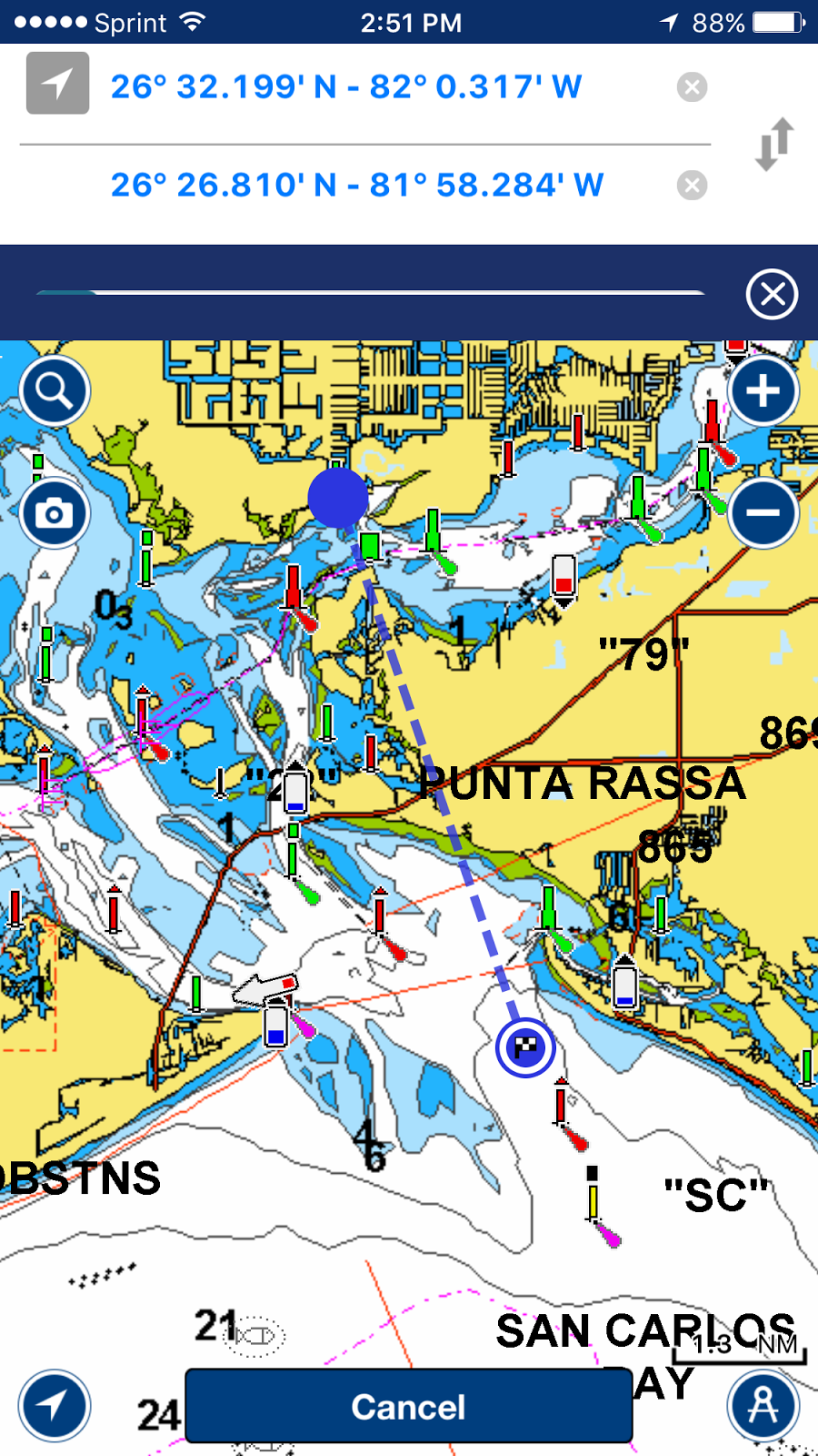 I marine apps 2015 navionics boating app recently added an amazing new feature that greatly improves the routing function it is called auto routing gumiabroncs Image collections