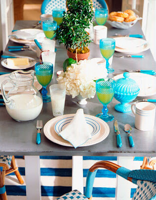 Lilly pond ering spring 2011 blue curacao pantone 15 4825 for Lilly s craft kitchen
