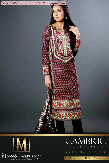 Mausummery Cambric Fancy Fall Collection 2014