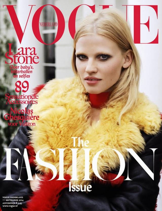 Lara Stone Vogue Netherlands