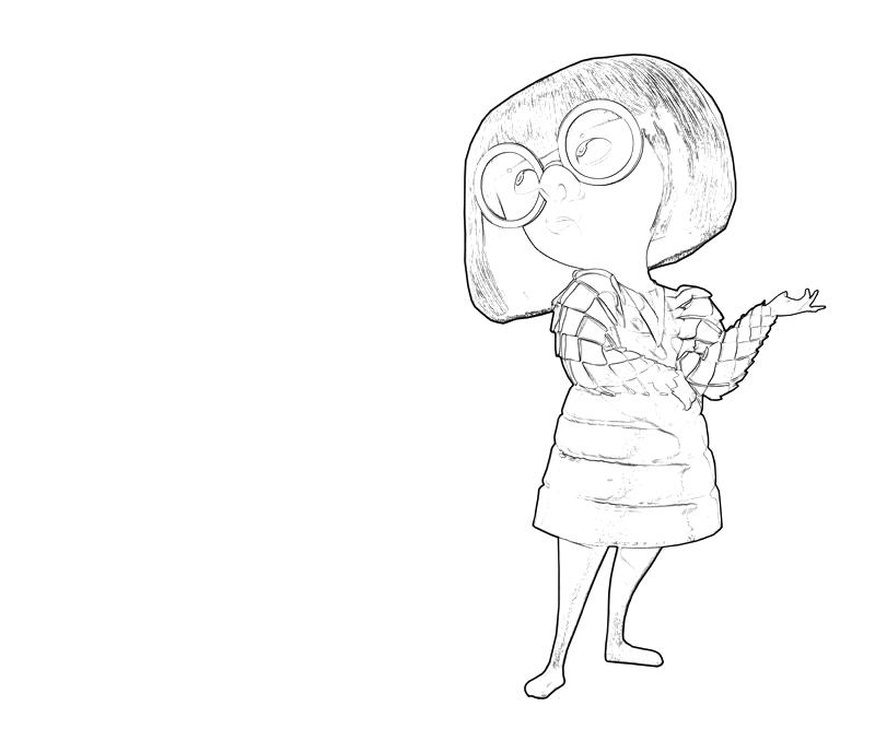Edna Mode Art Nintendo Wee