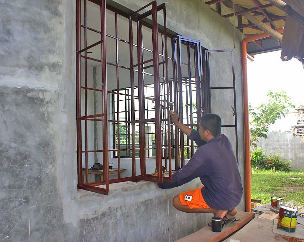 Life and travel in philippines home security philippines for Metal windows