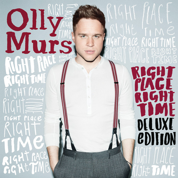 Capa Olly Murs Right Place Right Time 2012 | músicas