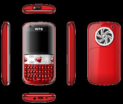 Spesifikasi Mito 611 Ponsel dengan 3 Kamera 2011