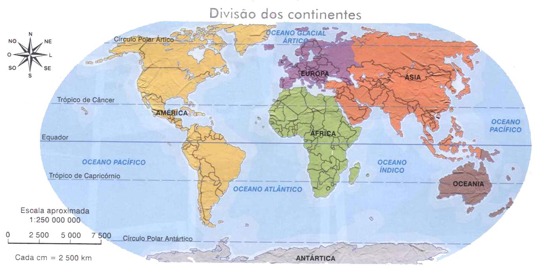 Mapa Mundi Continentes  My blog