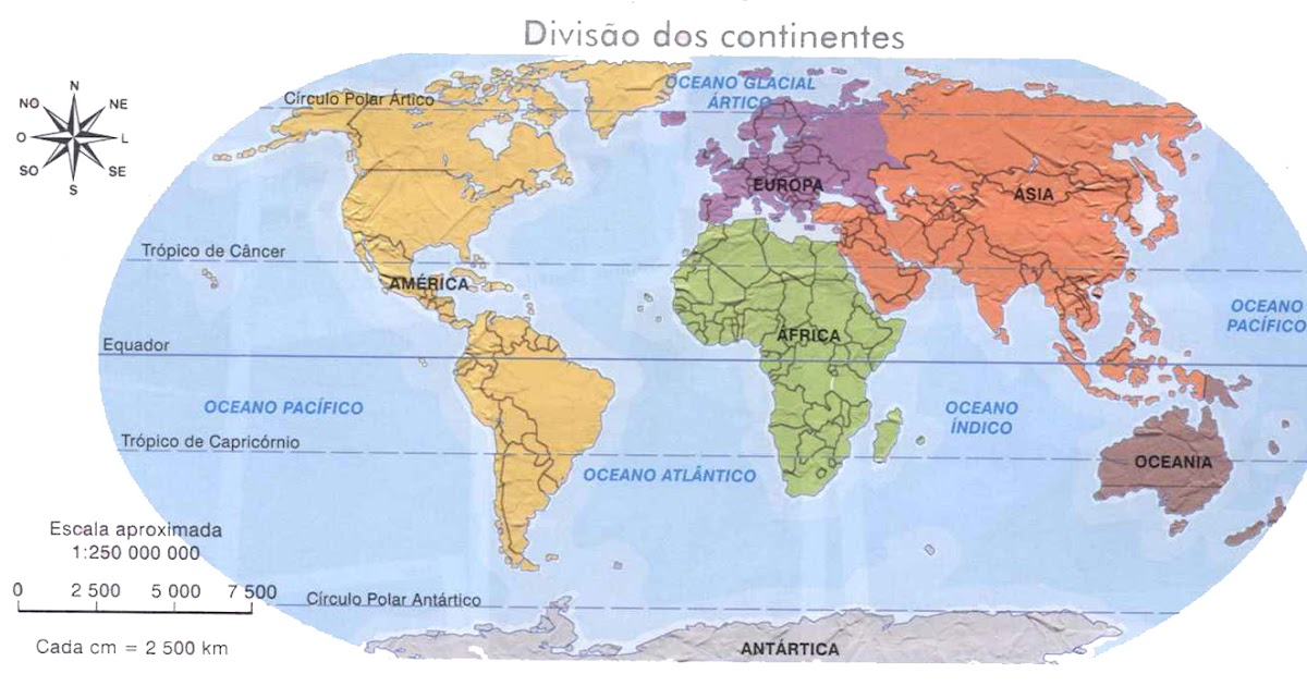 Geoensino  Portal sobre o ensino de Geografia Mapas Mundi
