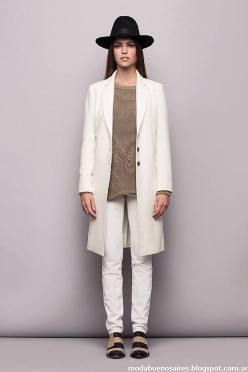 Tapados y abrigos de moda temporada otoño invierno 2014 de Awada - Moda otoño invierno 2014 Argentina.