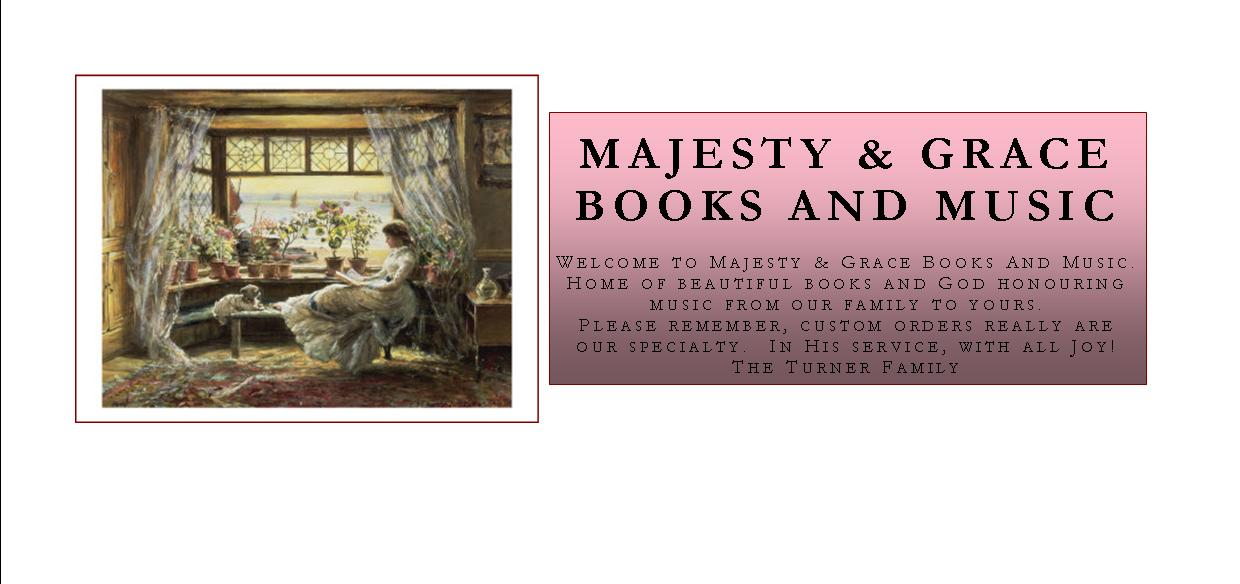 Majesty & Grace Books And Music