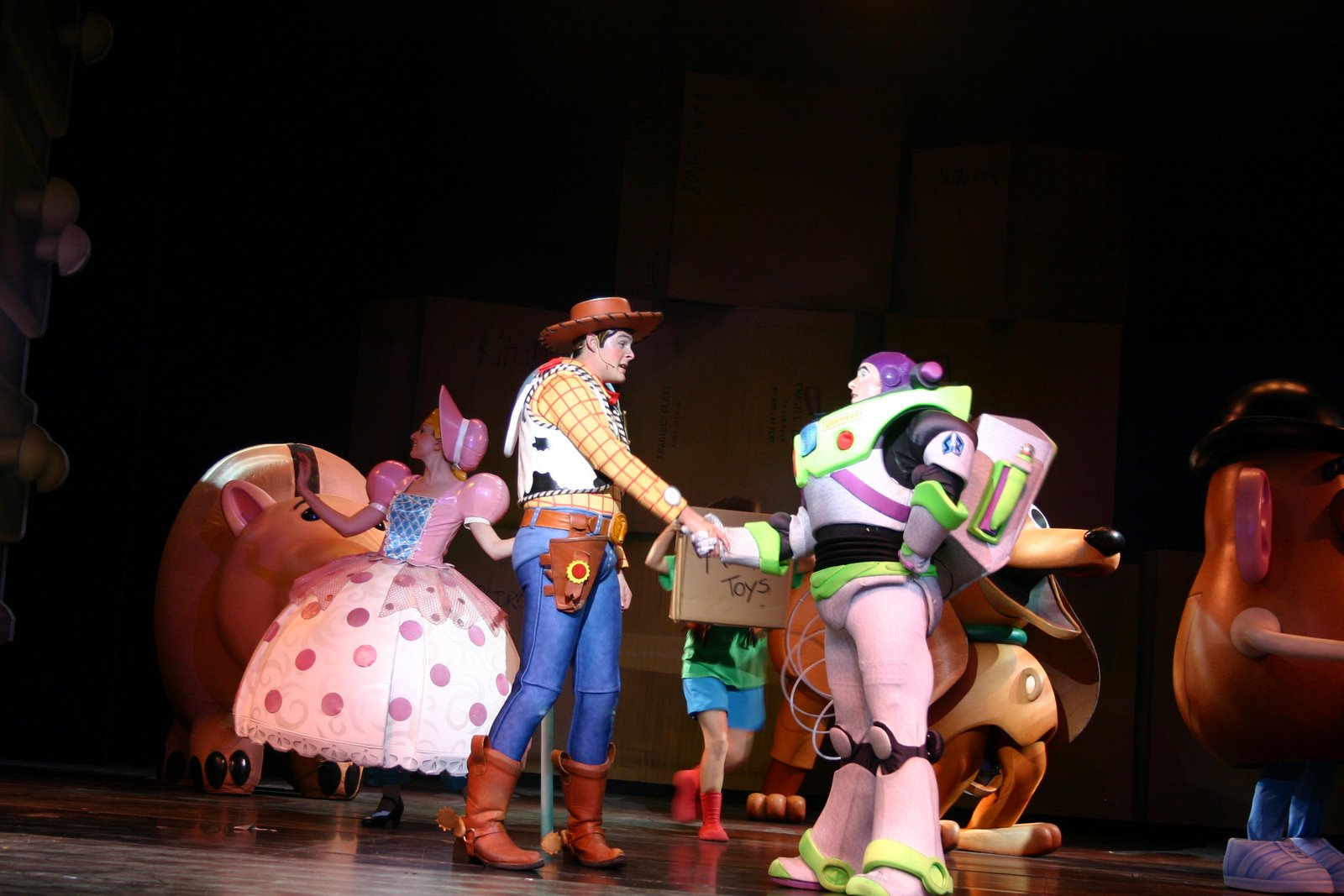 Toy Story The Musical : The wright spot toy story musical