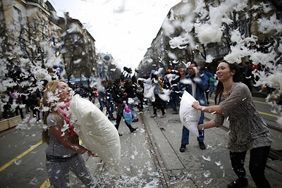 2nd April International Pillow Fight Day
