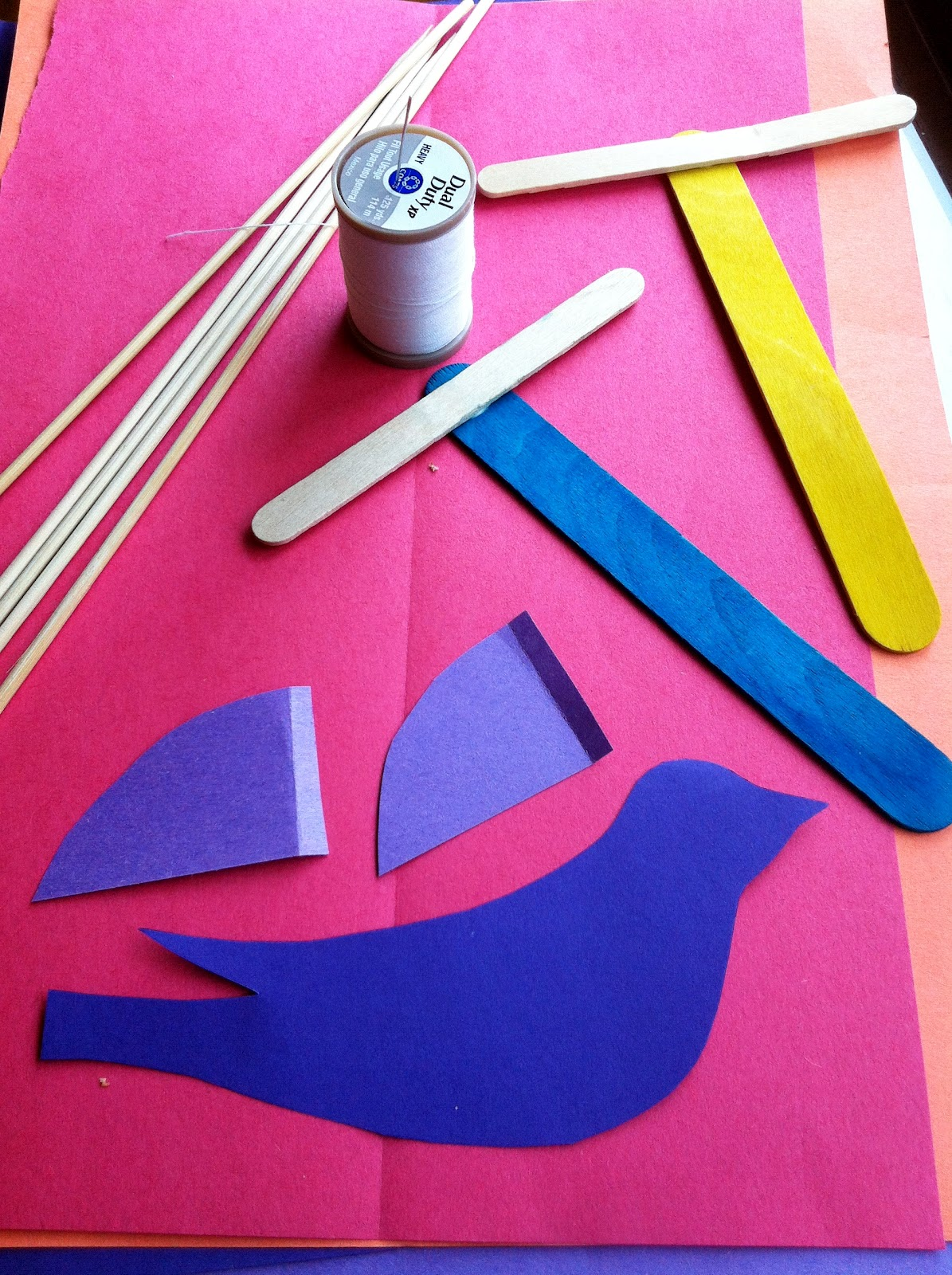 we bloom here a puppet tutorial for children bird butterfly