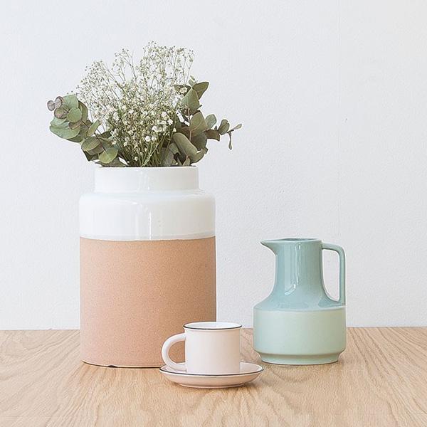 jarrón cerámica kenay home